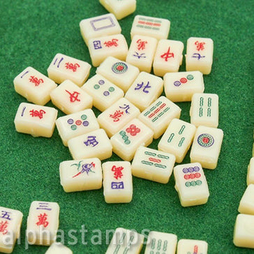 Mini Mahjong Tiles