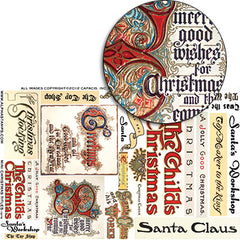 Mini Christmas Titles Collage Sheet