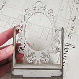 Gothic Mirror With Drawer