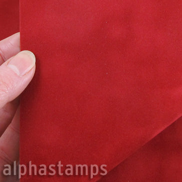 Red Suede Paper