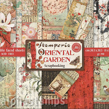 Oriental Garden 8x8 Paper Pad - OUT OF STOCK