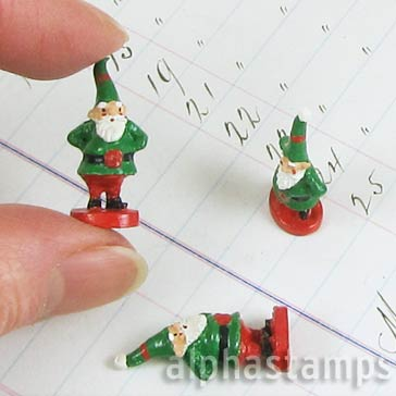 1 Inch Christmas Gnome