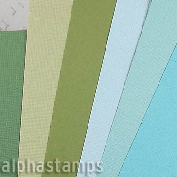 Waves & Seaweed Solid-Color Paper Set*