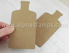 Chipboard Potion Bottle Blanks
