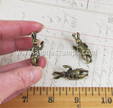 Antique Bronze 3D Rabbit Charm