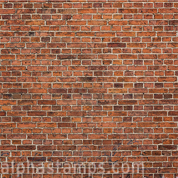 Red Brick Wall Scrapbook Paper - OUT OF STOCK