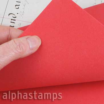 Art Foam Sheet - Poppy Red