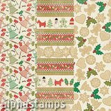 Rejoice Christmas Baking Custom 12x12 Paper Set