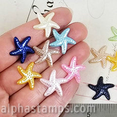20mm Resin Starfish Cabs