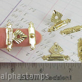 Lightweight Gold Box Clasp Set