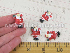 28mm Santa Claus Cabochon
