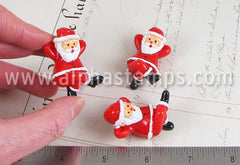 Resting Santa Claus Resin Figurine