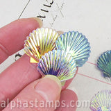 22mm Scallop Shell Sequin Mix
