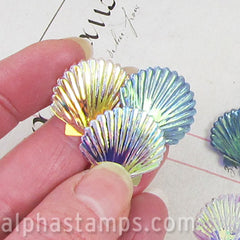 22mm Scallop Shell Sequin Mix*