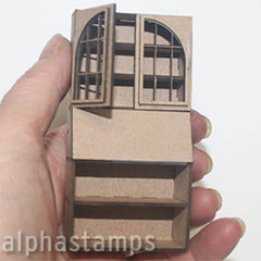 Chipboard Secretary 1:24 Scale