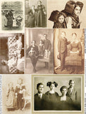 Sepia Siblings Collage Sheet