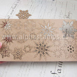 Chipboard Snowflake Shape Set