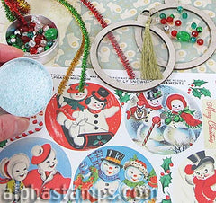 Silly Snowmen Ornaments Mini Kit