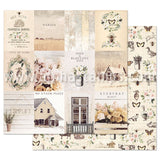 Spring Farmhouse Simple Things Scrapbook Paper