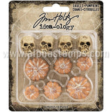 Tim Holtz Mini Skulls & Pumpkins