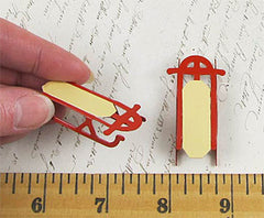 Miniature Red Sled