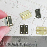 Small Rectangular Hinges