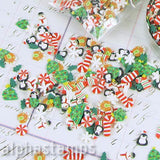 Hello Christmas Polymer Clay Slice Mix