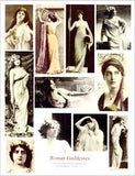 Roman Goddesses Collage Sheet