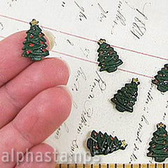 16mm Resin Christmas Tree*
