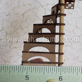 Half Scale Spiral Staircase