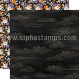 Bewitched Scrapbook Paper - Spooky Night