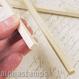 1/4 Inch Square Wooden Dowels*