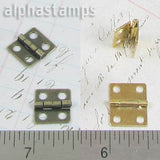 Small Square Hinges