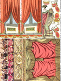 Square Shrine Curtains Collage Sheet