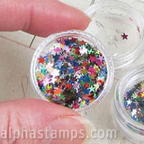 2.5mm Multicolor Star Sequins
