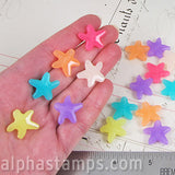 Acrylic Starfish Beads*