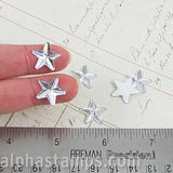 14mm Clear Flat-Back Acrylic Rhinestone Stars