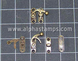 Swinging Hook & Latch Set*