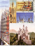 Tall Castles Collage Sheet
