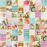 Alice's Tea Party 6x6 Paper Pad