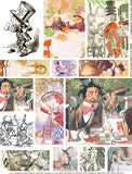 Mad Hatter's Teaparty #1 Collage Sheet