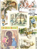Tenniel's Alice Collage Sheet
