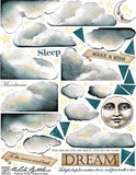 Theatre Clouds Collage Sheet
