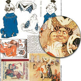 The Duchess Paper Dolls Collage Sheet