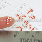 Tiny Polymer Clay Candy Canes