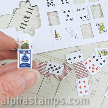 10x15mm Playing Cards with Boxes
