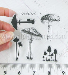 Toadstools Clear Stamp Set