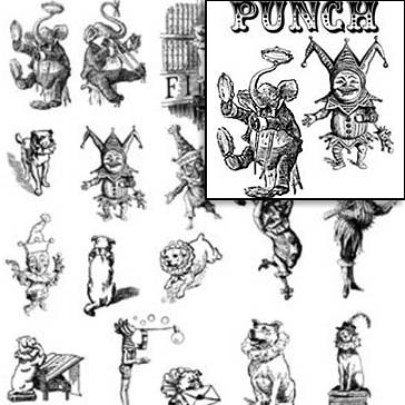 Toby and Punch Rubber Stamp Set