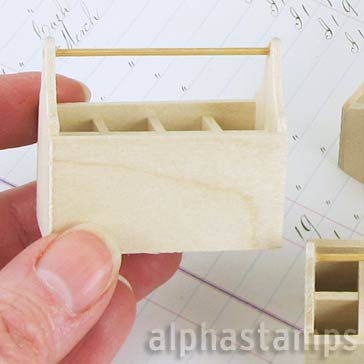 Mini Wooden Toolbox