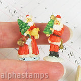 Resin Santa Claus with Tree